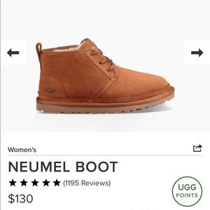 Ugg Neumel Chestnut Boot